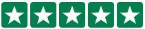 JUF.dk har 5 stjerner på Trustpilot